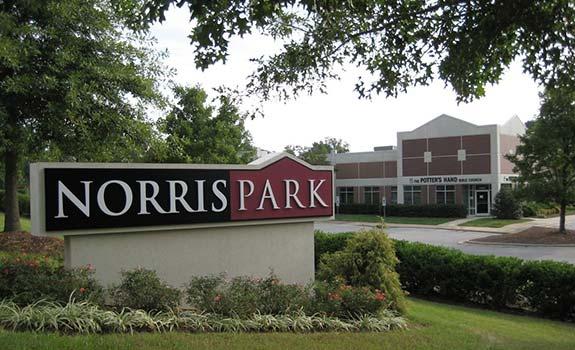 Norris Business Park Sign