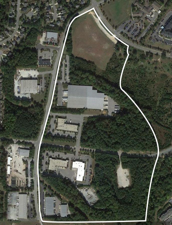 Main Map - Norris Business Park