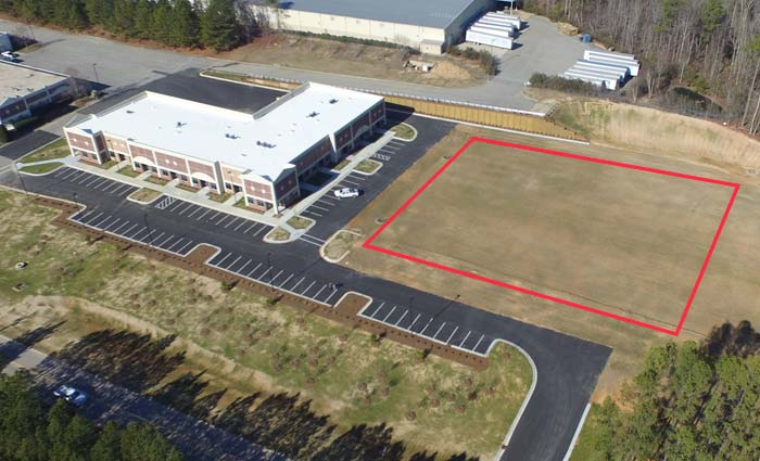 Building #2 from Above - Norris Business Park