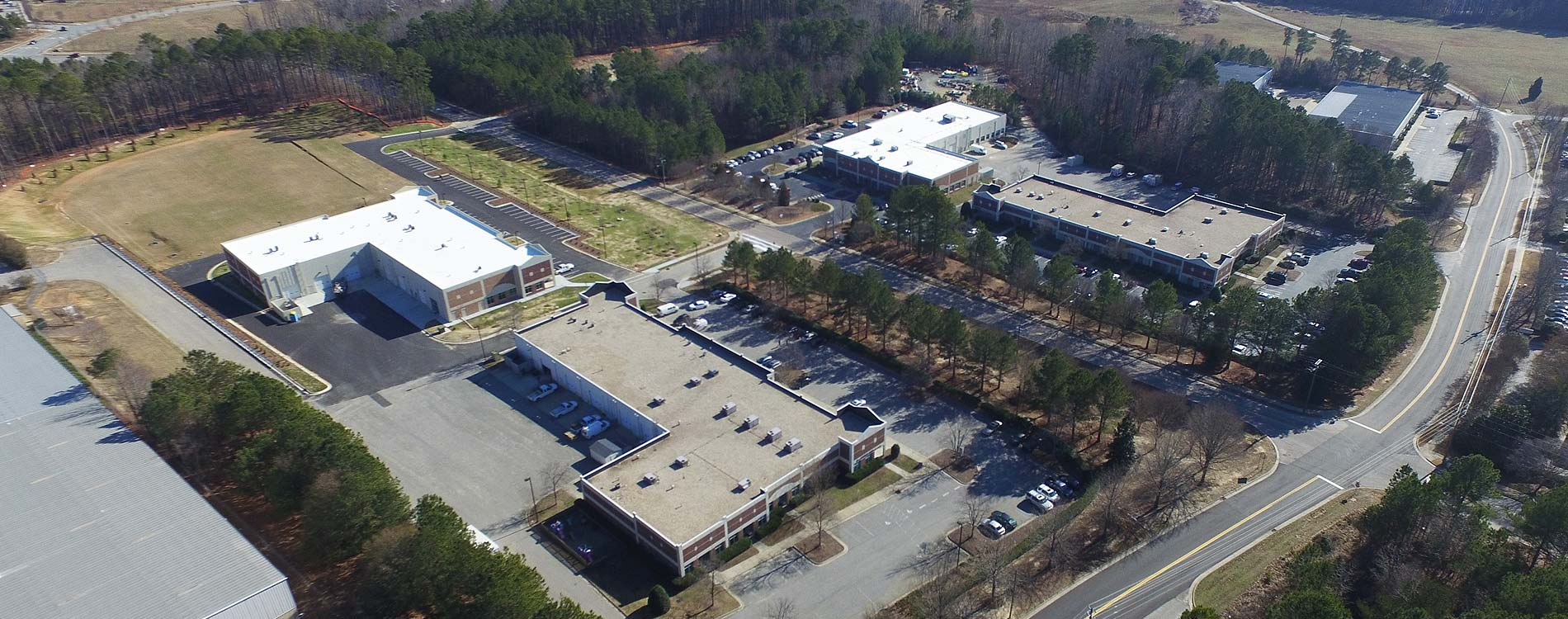 Above Norris Business Park | Apex, NC